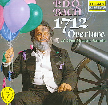 1712 OVERTURE & OTHER MUSICAL ASSAULT BY BACH,PDQ (CD)